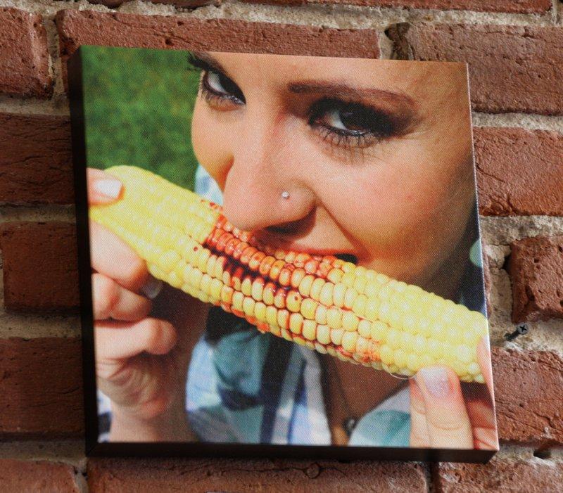"""Mmmm...Corn 10""""x10"""" $39"""