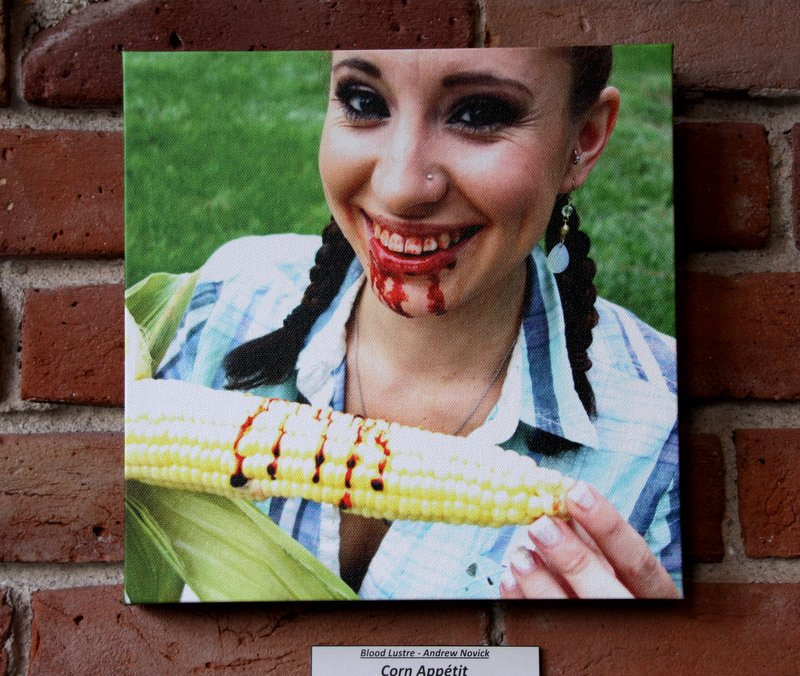 "Corn Appetit 10""x10"" $39"